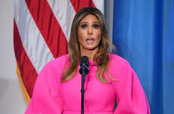 """Ese huerto fue el germen de la iniciativa """"Let's Move"""", de Michelle Obama. Foto: AFP"""