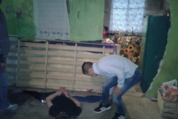 """""""El Dibu"""" fue encontrado en una casa de Casabó escondido abajo de una cama. Foto: Ministerio del Interior"""