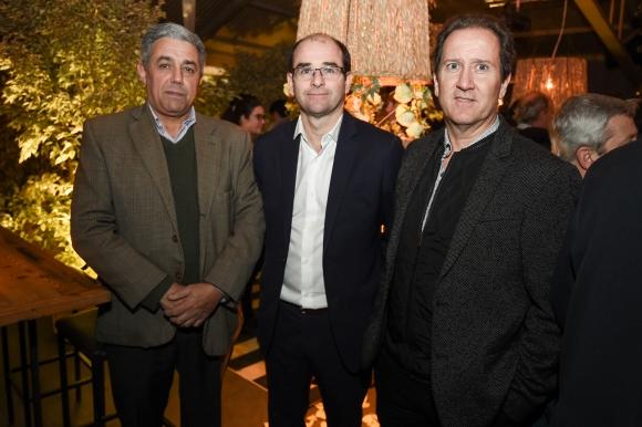 Álvaro Faccello,Pablo Menéndez, José Luis Lagrecca.