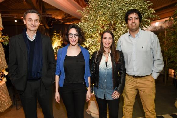 Fernando Balsamo, Leticia Lamas, Natalia Elso, Alejandro Méndez.
