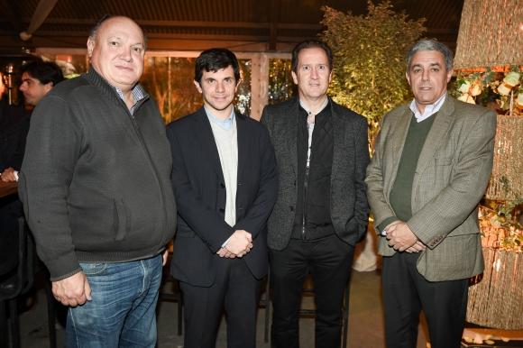 Néstor Santos, Francisco Solari, José Luis Lagreca, Álvaro Faccello.