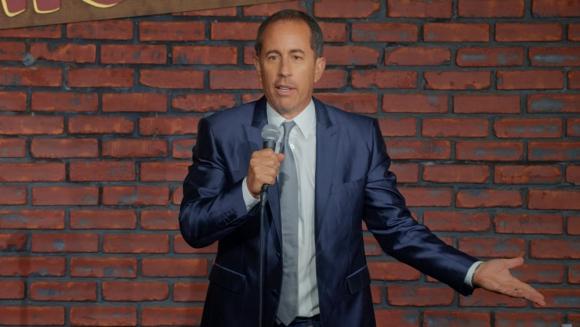 Jerry Seinfeld en su especial. Foto: Difusión