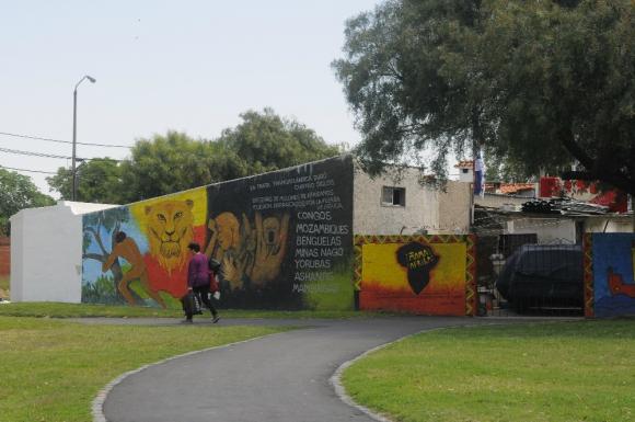 """Escuela N°47: según el investigador Camino, aquí estuvo el """"Caserío de los Negros"""". Foto: A. Colmegna"""