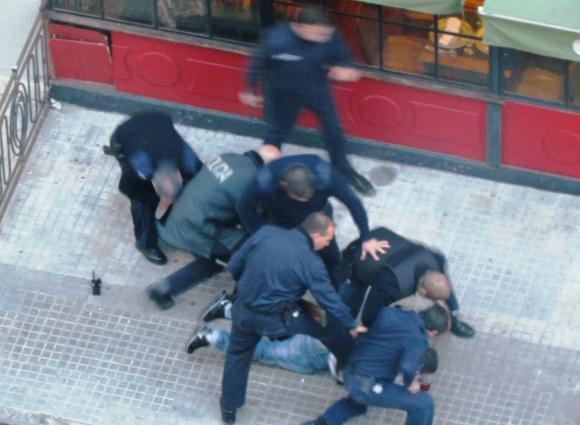 Pocitos: el 5 de agosto de 2013, una violenta rapiña sacudió al barrio. Foto: Archivo