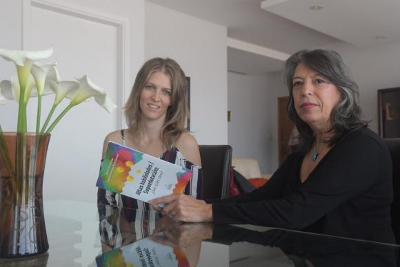 """Bendelman y Pérez Barrera escribieron """"Altas habilidades / Superdotación: ¿Qué, quién, cómo? (Isadora). Foto: F. Flores"""