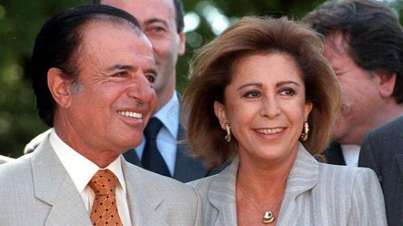 María Julia Alsogaray, un ícono de los noventa. Foto: Archivo La Nación   GDA