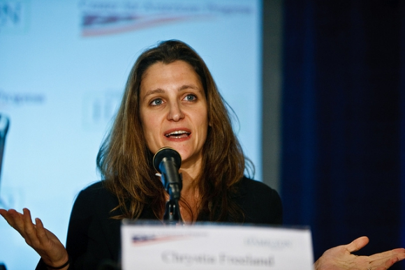 Chrystia Freeland. Foto: Flickr