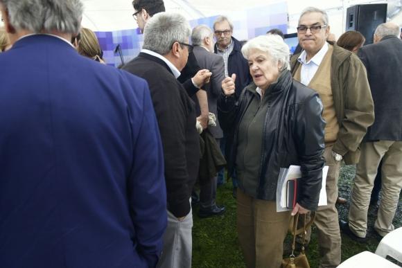 Topolansky en Consejo de Ministros abierto. Foto: Fernando Ponzetto
