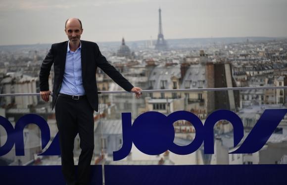 Presentación. Jean-Michel Mathieu, CEO de la novel aerolínea Joon. (Foto: AFP)