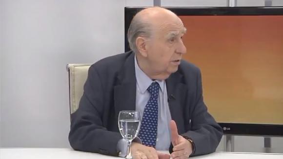 Julio María Sanguinetti. Foto: Captura