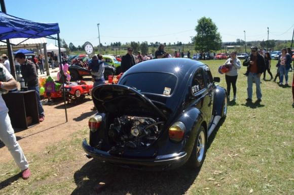 Motor: colocado en la parte de atrás, gasta poco combustible. Foto: V. Rodríguez