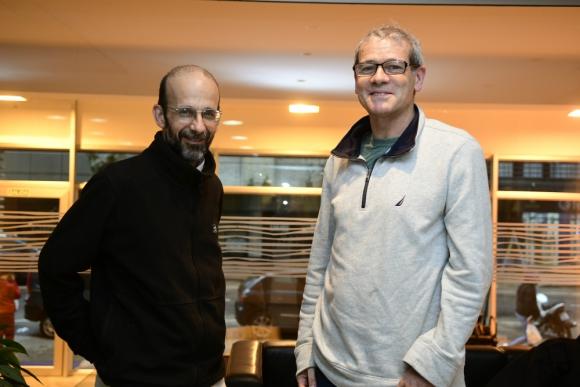Pisano y Pereira. Foto: Marcelo Bonjour