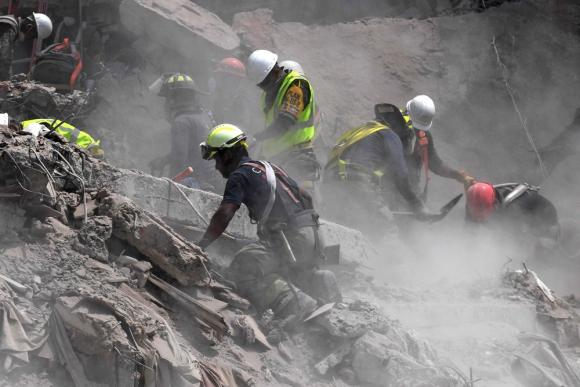 Un rescate que se está haciendo muy difícil. Foto: AFP