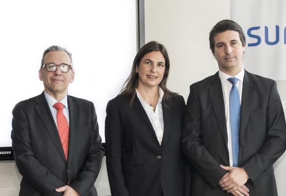 Axel Christensen, María José Frontini, Gerardo Ameige.