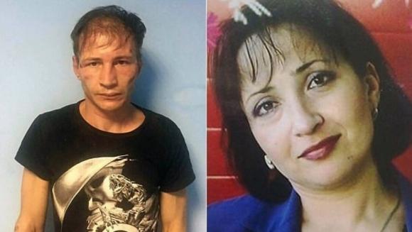 Dmitri y Natalia, los supuestos caníbales.