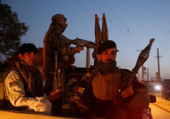 Fuerzas de seguridad afganas. Foto: Reuters.