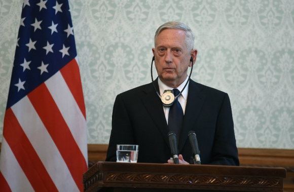 Jim Mattis, secretario de Defensa. Foto: AFP.
