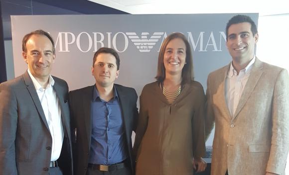 Federico Pigni, Emiliano Reisfeld, Verónica de Loy, Malcom Jackson.