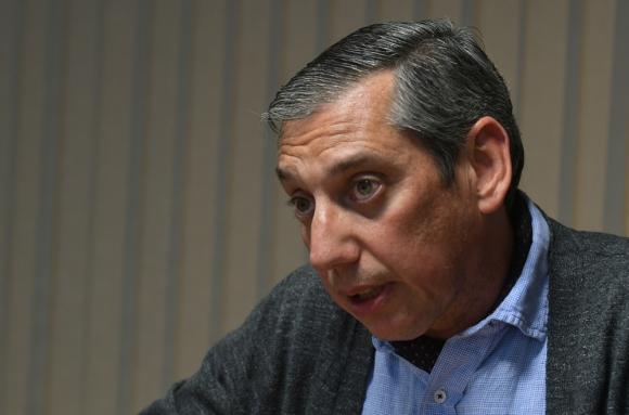 Carlos Enciso, intendente de Florida. Foto: Darwin Borrelli