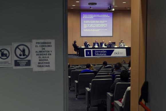 En su 10° edición, un panel discutió sobre la reforma tributaria. Foto: F. Ponzetto