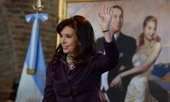 """Soy peronista, no me digas que soy kirchnerista. Me llamo Kirchner"". Foto: EFE"