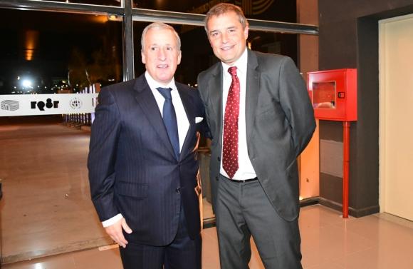 Juan Pedro Damiani y Diego Aguirre