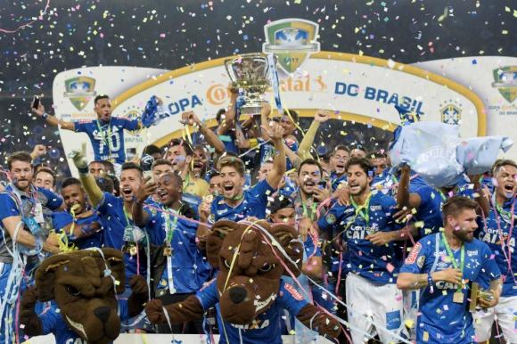 Cruzeiro nuevamente campeón de la Copa de Brasil
