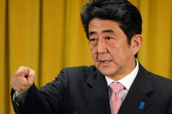 Primer ministro Shinzo Abe. Foto: AFP