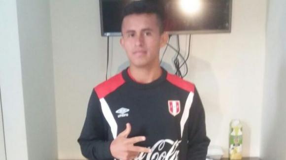 Osama Vinladen Jiménez, jugador de la sub 15 de Perú. Foto: Difusión