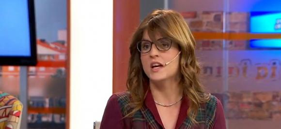 Fabiana Goyeneche, directora de Desarrollo Social de la intendencia de Montevideo. Foto: Captura.