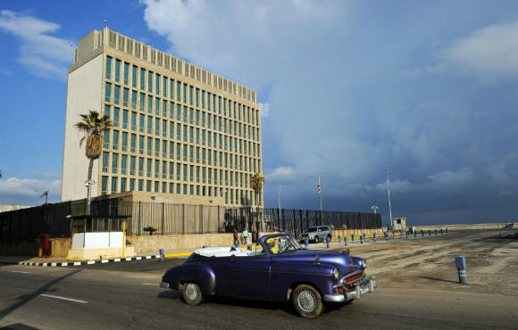 Embajada de Estados Unidos en Cuba. Foto: AFP