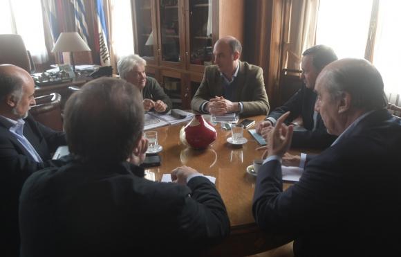 La vicepresidenta Topolansky restableció un fluido diálogo con la oposición. Foto: F. Flores