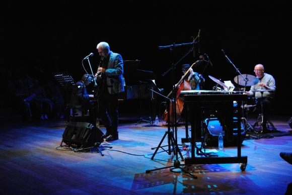 Quinteto Benny Goodman en la Sala Zavala Muniz.