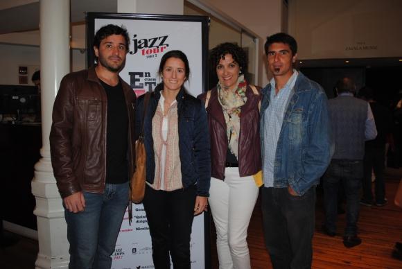 Martín Sierra, Natalia Puig, Cecilia García, Fabián Aguirre.