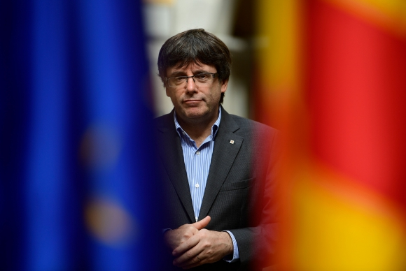 Carles Puigdemont. Foto: AFP
