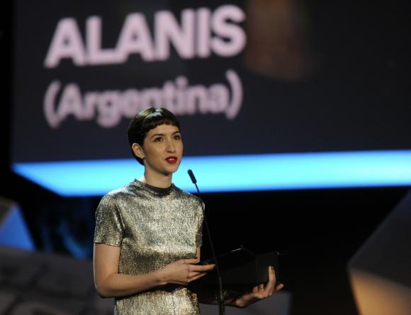 Sofía Gala en el Festival de Cine de San Sebastián 2017