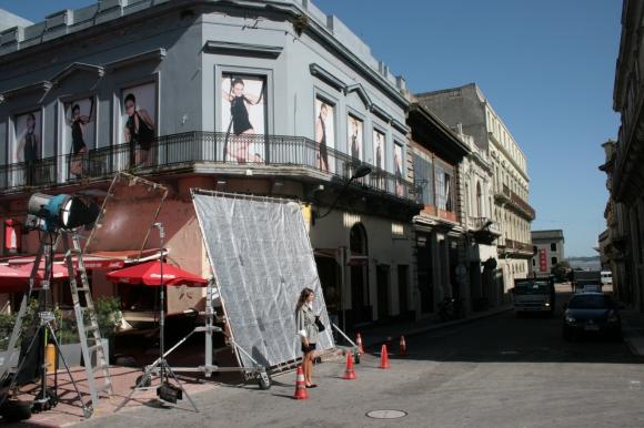 Rodajes en Montevideo. Foto: Oficina de Locaciones