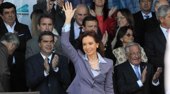 La expresidenta es la principal protagonista de la campaña electoral. Foto: EFE