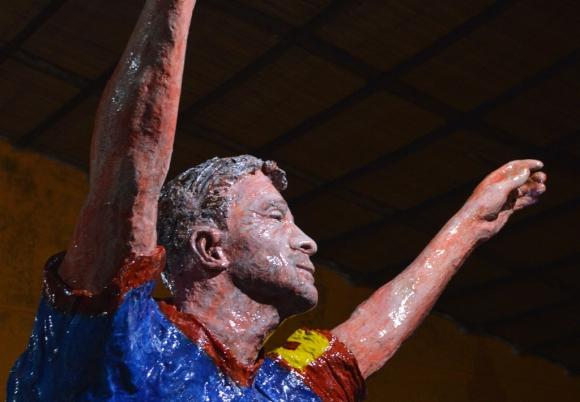 Estatua de Pablo Armanetti. Foto: Manuela Prado