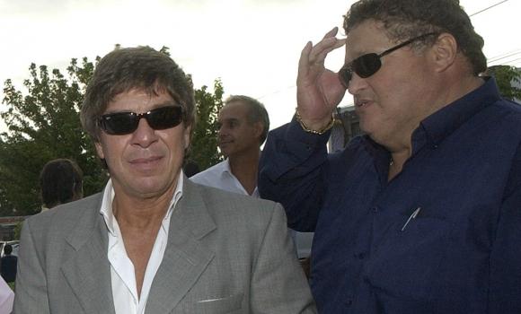 Junto al empresario Paco Casal. Foto: archivo El País