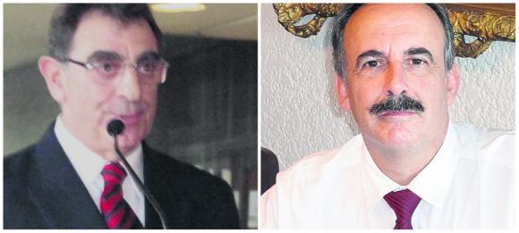 CAP. Miguel Elefteriu (izq), ING. Ruben Martínez Baeza (der). Foto: El País.