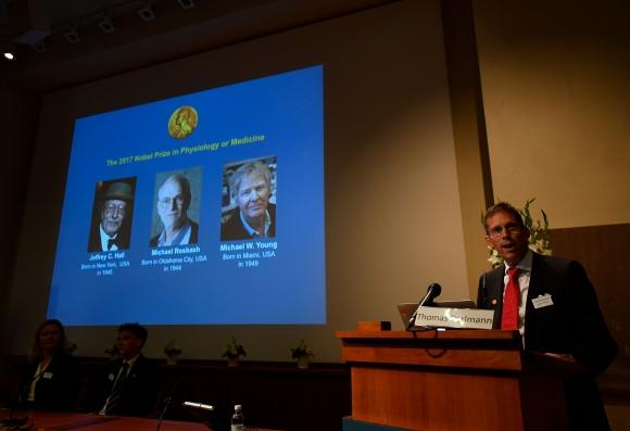 Premio Nobel de Medicina. Foto: AFP
