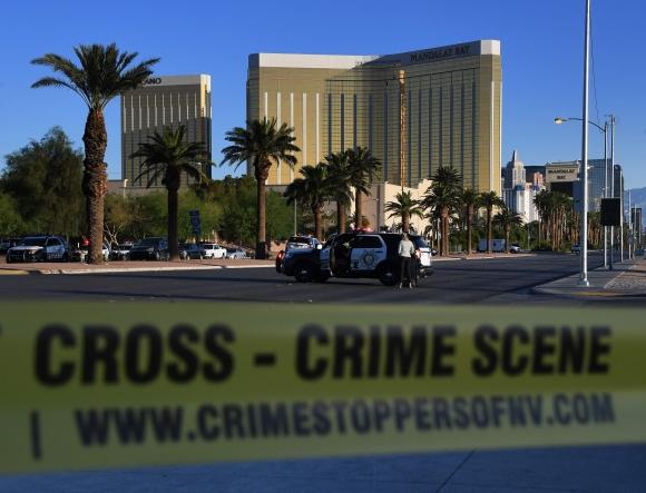 El lugar del tiroteo. Foto: AFP