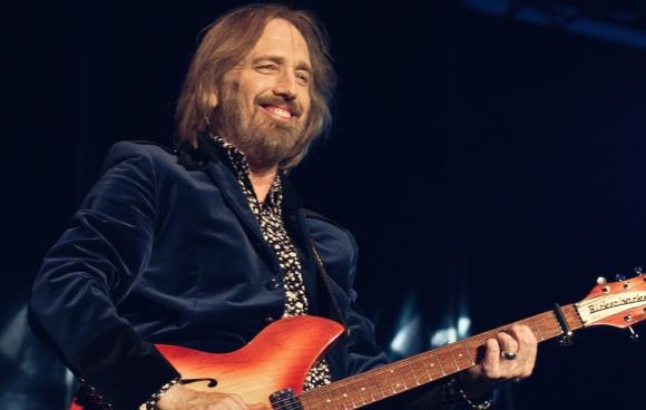 Tom Petty durante un concierto en Dinamarca en 2012.