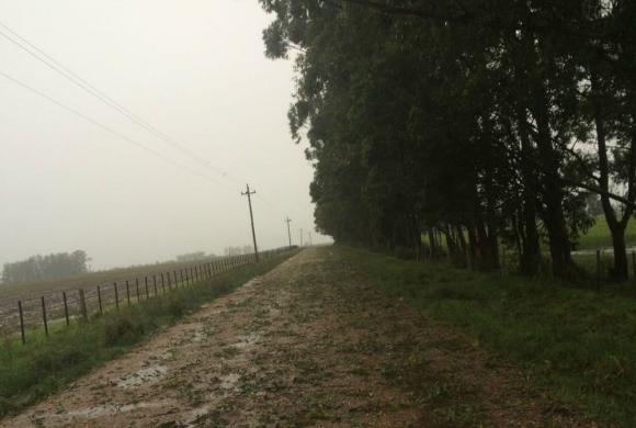 Los caminos quedaron de difícil acceso. Foto: Gentileza del lector