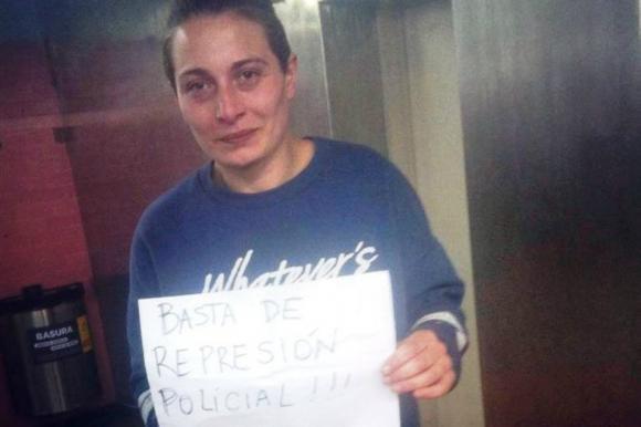 Mariana Solange Gómez fue liberada pasadas las 21 horas. Foto: @mariposablancacantante / Instagram.