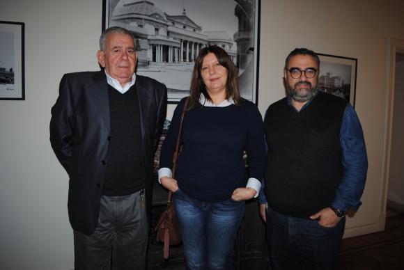 Edmundo Canalda, Soledad Platero, Jaime Clara.