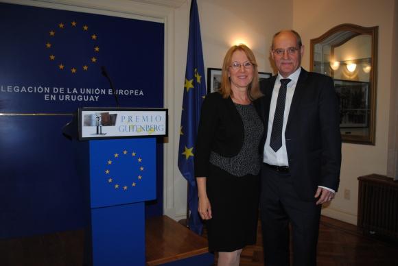 Emma König, Jefe de la Delegación de la Unión Europea Karl-Otto König.