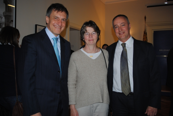 Igor Svetogorsky, Katharina Ochse, Richard Empson.