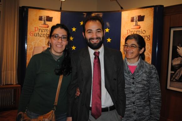 Valeria Corbo, Fabián Muniz, Rosa Umpiérrez.